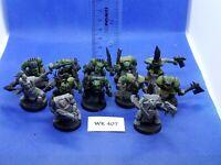 WH40K - Space Orks - Boyz x12 Damaged - WK407