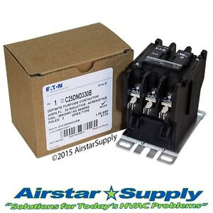 C25DND330B Eaton / Cutler Hammer Contactor - 30 Amp • 3 Pole • 208/240V Coil