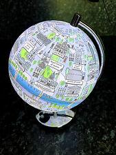 London Globe with Light Souvenir Diameter-15cm Desk Lamp