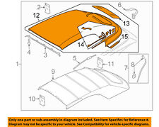 VW VOLKSWAGEN OEM 13-16 Beetle Convertible Soft Top-Roof Assy 5C3871036BRX8