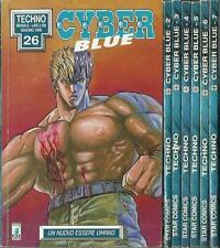 Serie Completa - CYBER BLUE n° 1/7 (Star Comics, 1996)