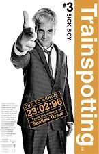 "Trainspotting movie poster - 11"" x 17"" inches  - Sick Boy  - Jonny Lee Miller"