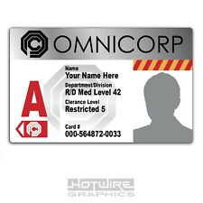 PERSONALISED Printed Novelty ID- Omnicorp OCP Card Pass (Robocop FILM & TV)