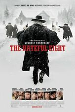 The Hateful 8 movie poster - Quentin Tarantino (style b)