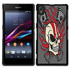 Design S0051  Back Cover Hard Case Handy Hülle Kappe für Sony Xperia Z1-  L39h