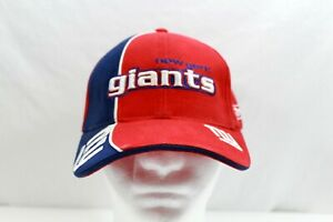 New York Giants Football NFL Reebok Pro Line Authentic Adjustable Hat Blue Red