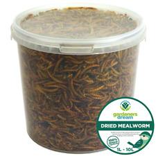 More details for gardenersdream dried mealworms - nutritious wild garden bird food treats birds