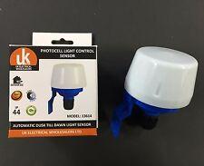 Photocell Outdoor Light Switch Daylight Dusk till Dawn Sensor Light switch,
