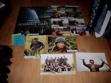 Kinoplakat+Photosatz: Der schmale Grat  Sean Penn