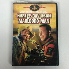 Harley Davidson and The Marlboro Man DVD Mickey Rourke Region 1 Widescreen Drama