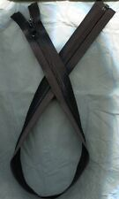 27 inch Black Nylon Coil #5 Separating YKK Zipper (Not invisible)