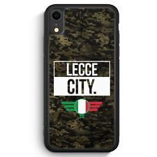 Lecce City Camouflage Italien iPhone XR SILIKON Hülle Cover Italienisch Italy...