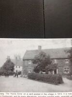L1-9 Ephemera Reprint Picture Torksey The Hume Arms 1913