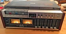 TEAC A-450 DOLBY CASSETTE DECK PLAY AND RECORD WITH COVER & TAPES VINTAGE AUDIO