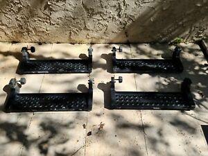Side Steps Hummer H2 OEM removable side steps running boards nerf bar