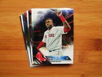 2016 Topps Chrome Boston Red Sox TEAM SET Mookie Betts