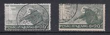 REGNO 1926 C. 20 VARIETA' FRANCESCANO STAMPA FRANCOBOLLO GRIGIO INVECE DI VERDE