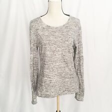 standard James Perse women's shirt heather gray long sleeves size 4