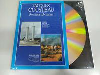 Jacques Cousteau mas Alla de Le Antipodas - Laserdisc Ld 2T