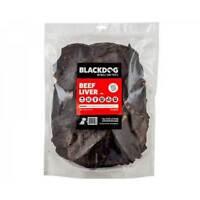 Blackdog Beef Liver Dog Tasty Pet Treats, Great for Training 1KG BULK BUY