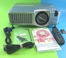 Hitachi Multimedia Projector CP-SX635 LCD Lamp Hours: 808 #8080