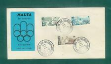 A22  MALTA Montreal Olympics 28th April 1976 FDC