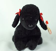 Ty Beanie Baby GiGi 1997 Poodle Dog w/ Tag ERRORS Plush Toy RARE PE NEW RETIRED