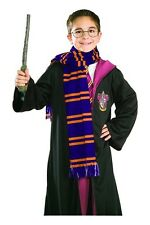 Harry Potter House of Gryffindor Colors and Crest Basic Costume Scarf NEW SEALED