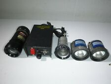 US Military Surplus Photosea Underwater ROV Camera w/ Power Supply & Lights READ