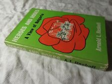 1966 HEROES and ROSES - A View of Bulgaria - Arnold L Haskell HB-DJ 1st edition
