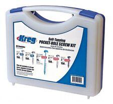 Kreg SK03 Pocket-Hole Screw Kit in 5 Sizes, New, Free Shipping