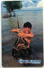 Malaysia Used Phone Card : The Horseshoe crab