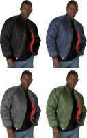 Military Reversible Air Force Water Repellent MA-1 Bomber Flight Jacket