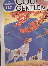 Country Gentleman Magazine Ben Ames Williams Paul Bransom November 1937