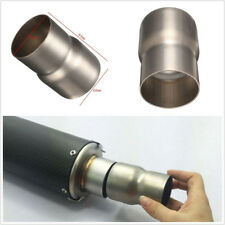 Mild Steel Motorcycles ATV Exhaust Reducer Convertor Connector Pipe Tube 60-51mm