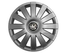 4x13'' Wheel trims for Vauxhall Corsa Agila Tigra - silver 13''
