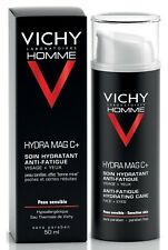 Vichy Homme Hydra Mag C+ Anti-Fatigue Hydrating Care Face + Eyes 50ml