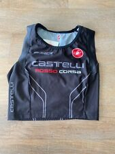 Women's Castelli Free Donna Singlet Brand New Black Size Medium