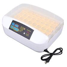 New listing 32 Eggs Digital Incubator Chicken Duck Quail Hatcher Lcd Display Auto Turning