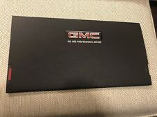 2019 GMC SIERRA 2-page Pull out Original Sales Brochure