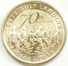Philippines 5 peso 2014 Battle for Leyte 70 years UNC (# 1604)