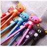 1pair New Pretty Rubber Children training chopsticks & randomization sent