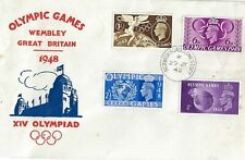 Olympic Games Wembley Great Britain 1948 FDC First Day Cover