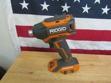 RIDGID 18 VOLT COMPACT CORDLESS BRUSHLESS 3 SPEED IMPACT  R86038 799