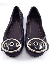 Car Shoe Purple Suede Ballerina Flats, Women's Shoe Size EU36/US6
