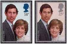 Timbres Lady Diana Grande Bretagne 1001/2 ** lot 20969