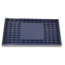 More details for blue bar plastic drip tray with plastic insert for bars pubs restaurants
