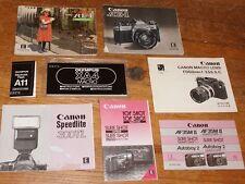 Lot #3 of Vintage Camera Manuals