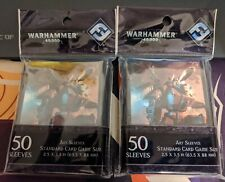 * Warhammer 40K Sleeves Tau Empire 2x Packs (100 Sleeves total)