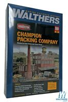 Walthers 933-3048 Champion Packing Plant Kit HO Scale Train
